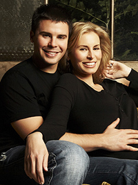 Niki Taylor and Lamar