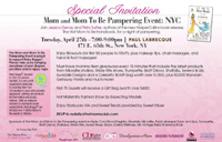 Hot Mom to Be Handbook Fashion Show NYC